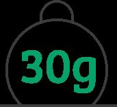 30-gram weight limits