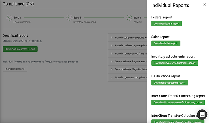 One-Click Compliance in Greenline